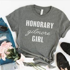 👚 Honorary Gilmore Girls TShirt - Grey - NEW